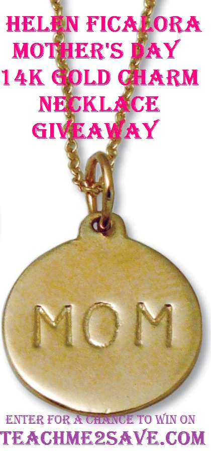 Helen Ficalora Mother's Day 14K Gold Charm Necklace - TM2S