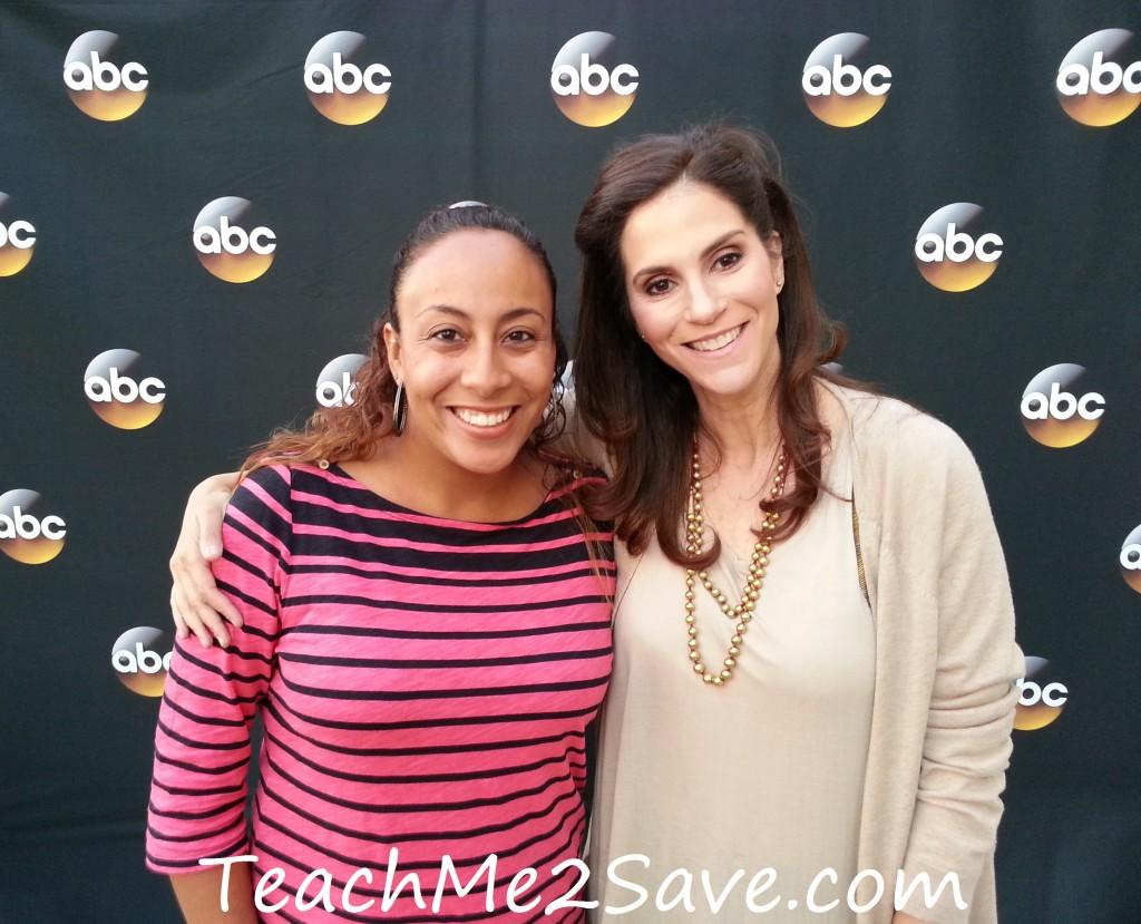 Leanette Fernandez with Jami Gertz - TM2S