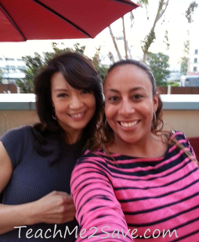 Leanette Fernandez with Ming-Na Wen - TM2S