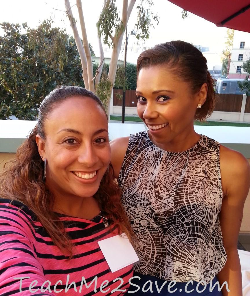 Leanette Fernandez with Toks Olagundoye - TM2S