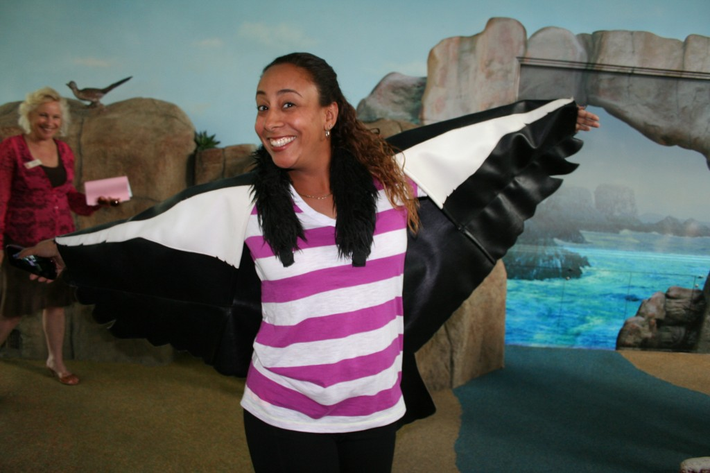 Leanette is a Condor at LA Zoo
