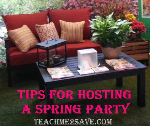 Tips for Hosting A Spring Party