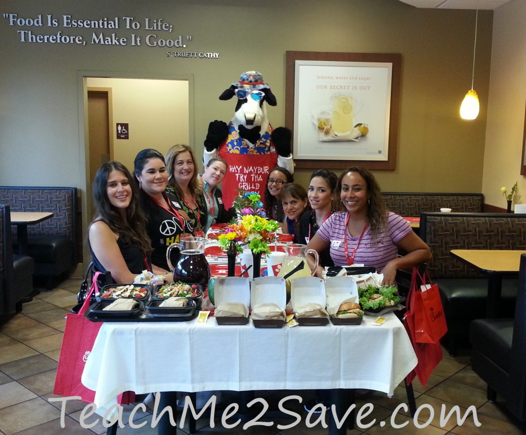 Chick-fil-A Grilled Chicken Taste Event Guests