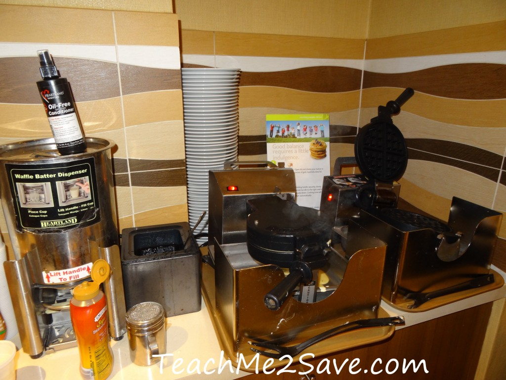 Residence Inn by Marriott Miami Airport Hot Breakfast Waffle Maker
