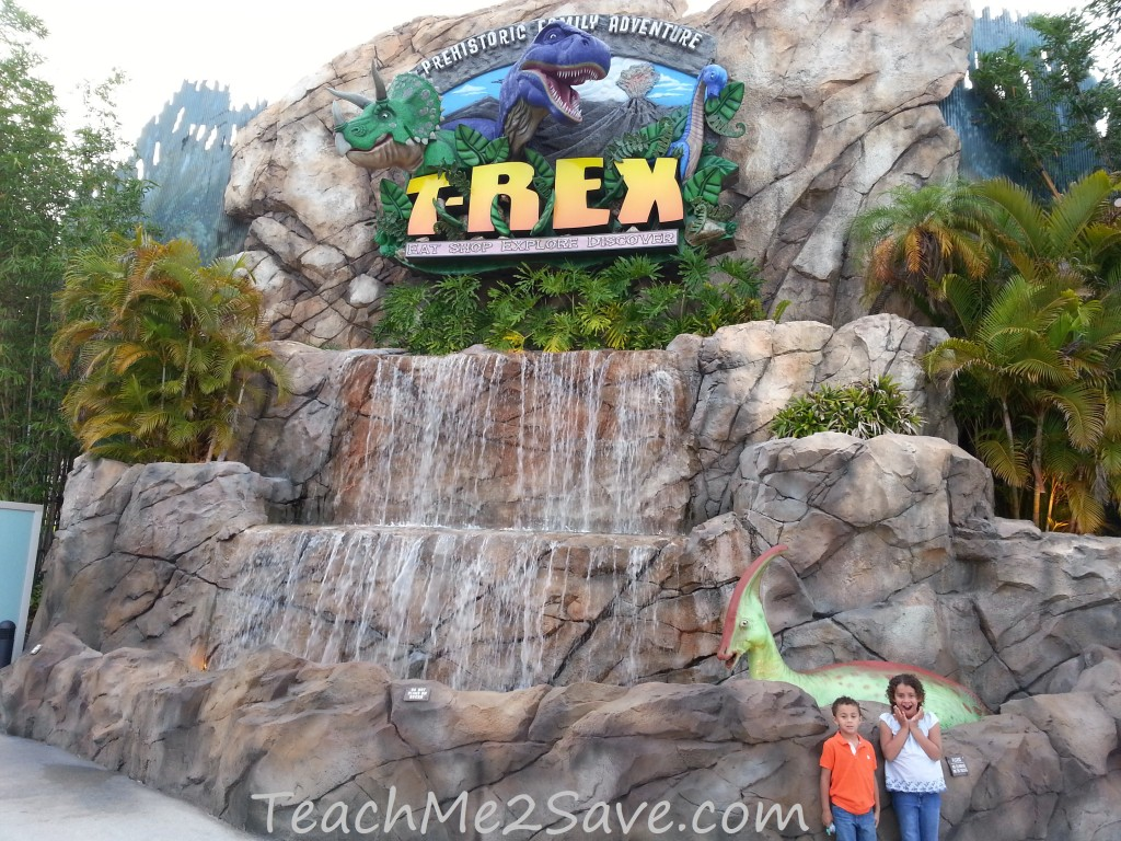 T-Rex Restaurant in Downtown Disney