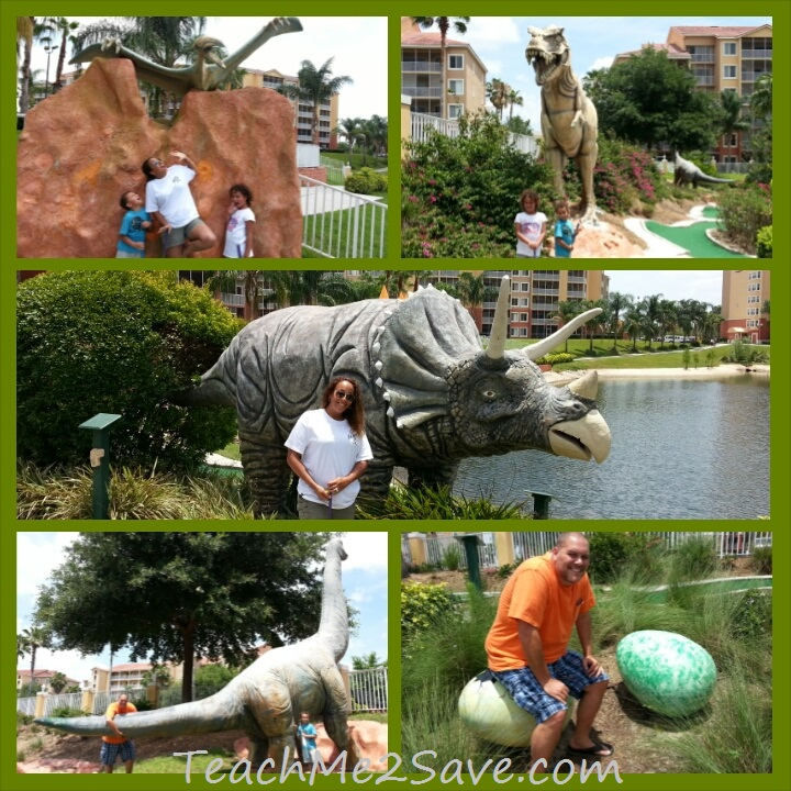 Westgate Resorts Miniature Golf Course Dinosaurs