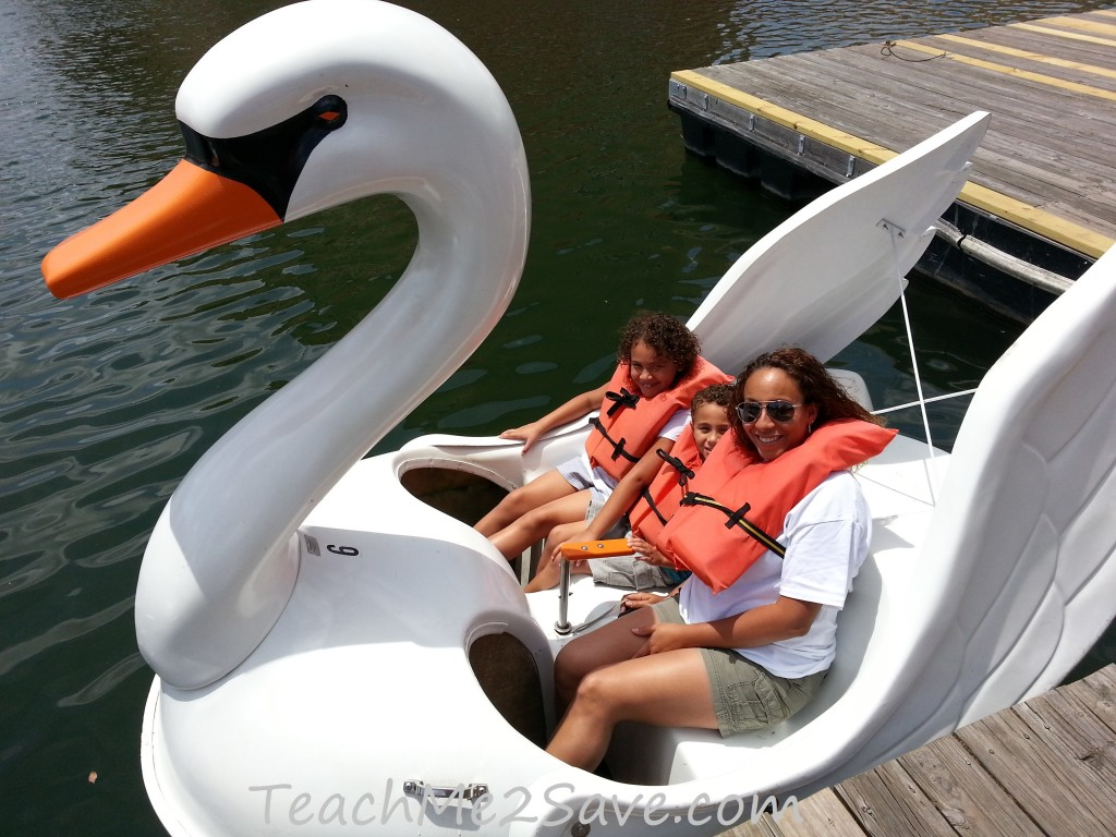 Westgate Resorts Paddle Boat Swans