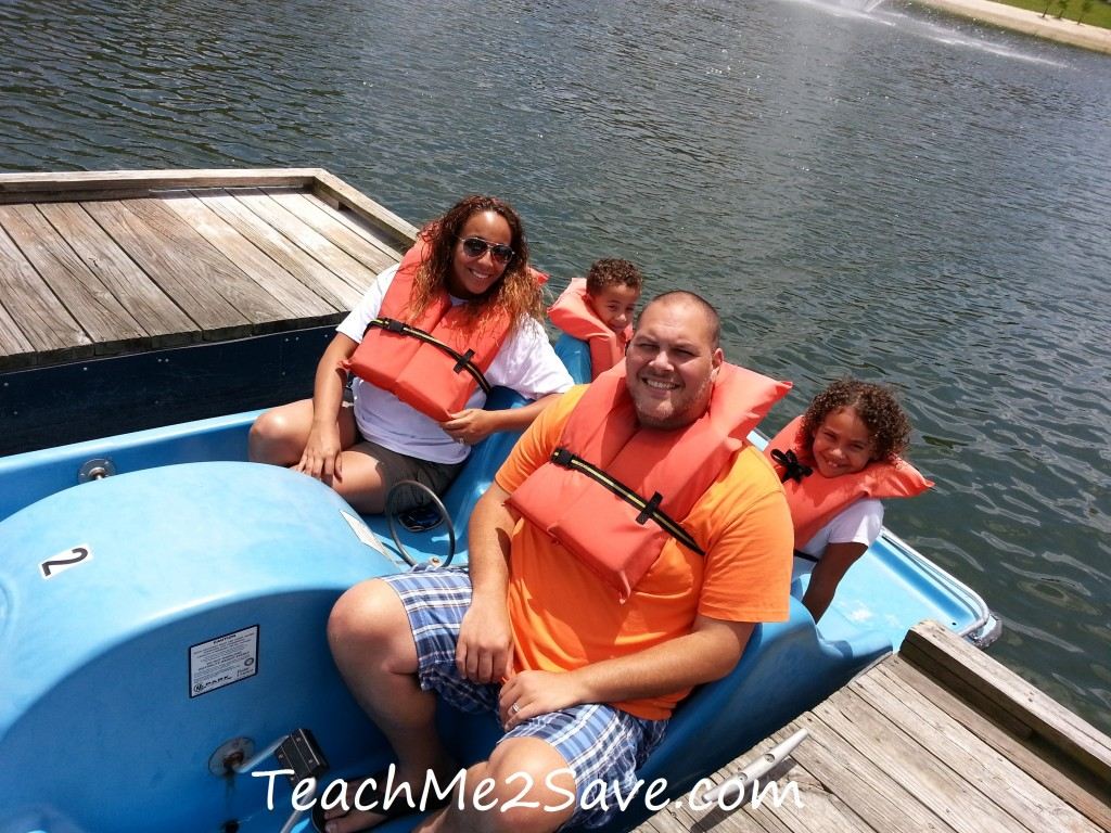 Westgate Resorts Paddle Boats