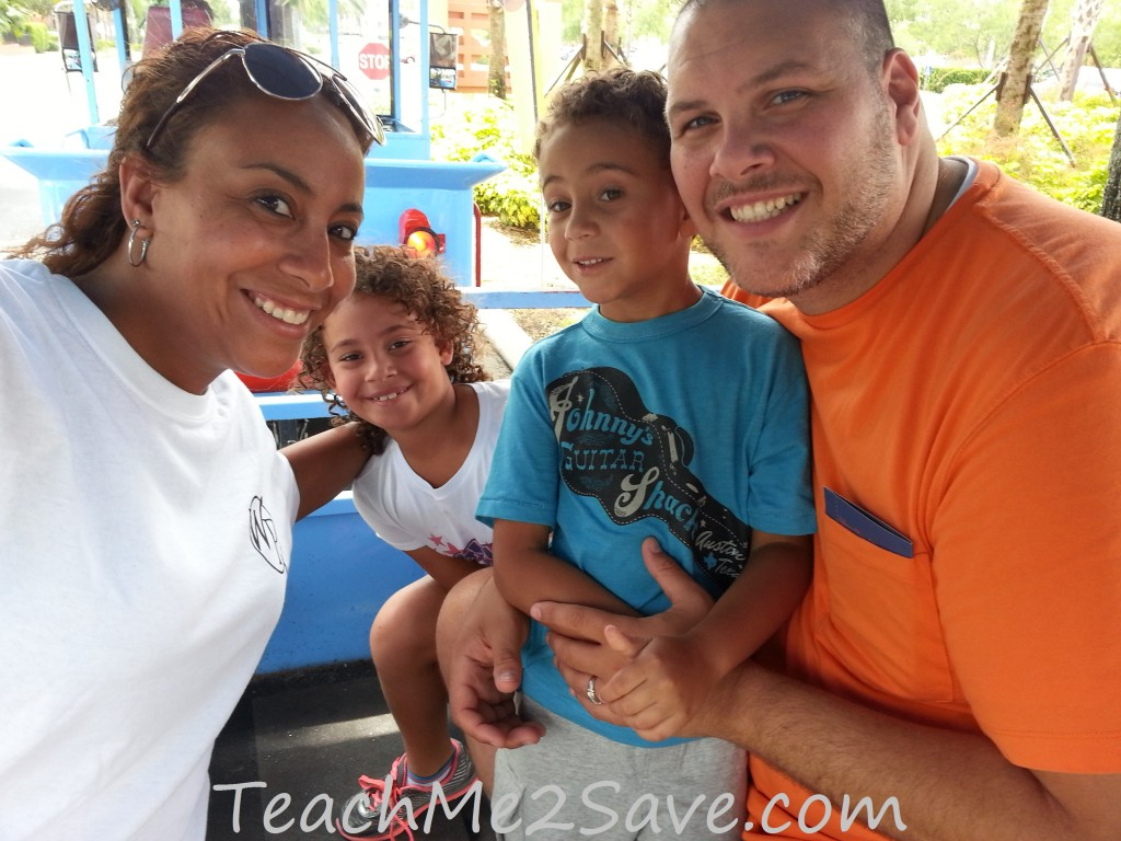 Westgate Resorts Thomas Train Family Pic