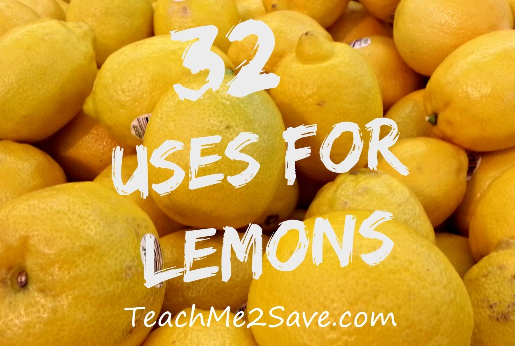 32 Uses for Lemons - TM2S