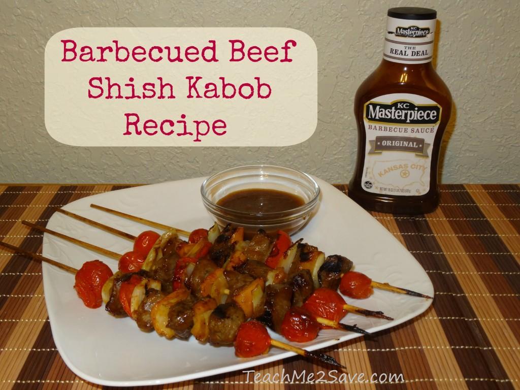Barbecued Beef Shish Kabob Recipe - TM2S