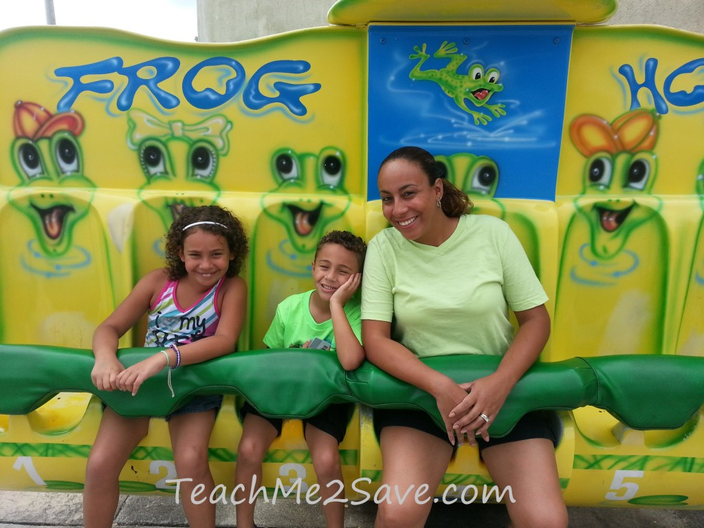 Boomers Frog Hopper Ride