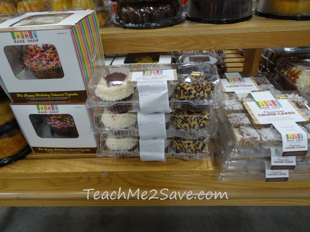 Crumbs Bake Shop Products
