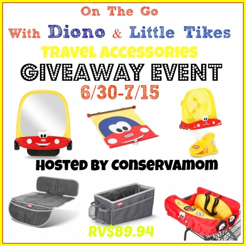 Diono Little Tikes Travel Accessory Giveaway