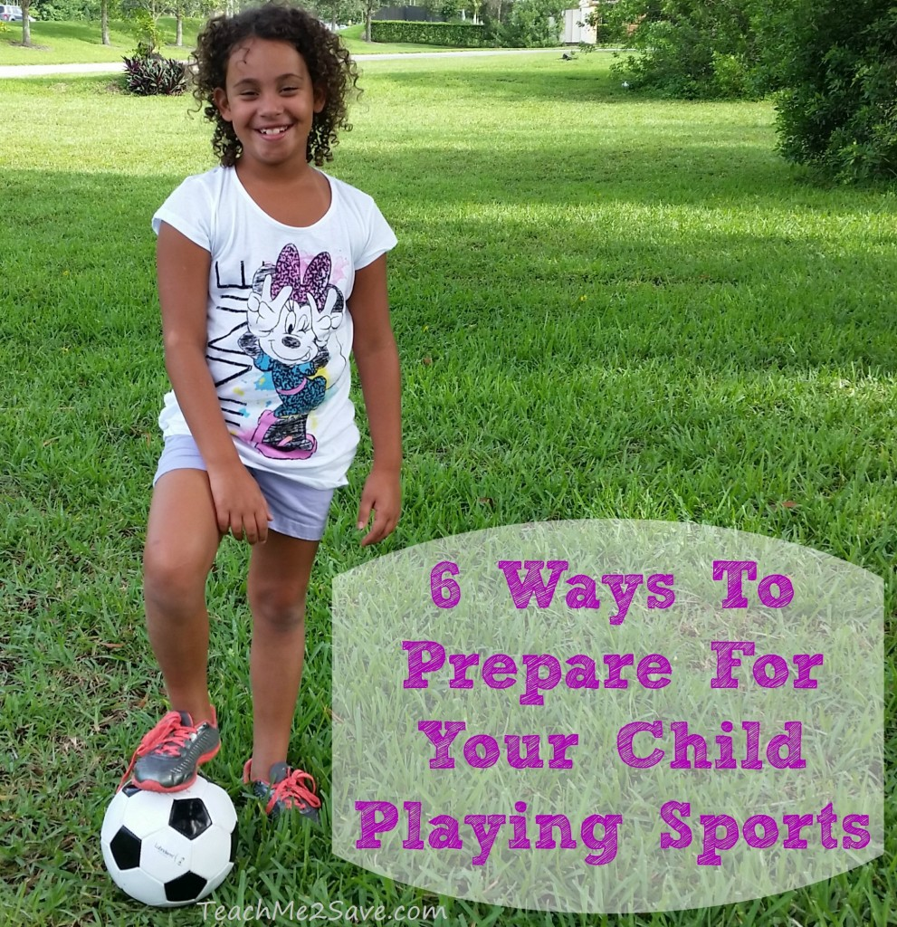 6 Ways To Prepare For Your Child Playing Sports - TM2S