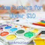 11 Boredom Busters for Kids That Are Less Than $10 Each