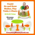 Combi Go and Grow Giveaway