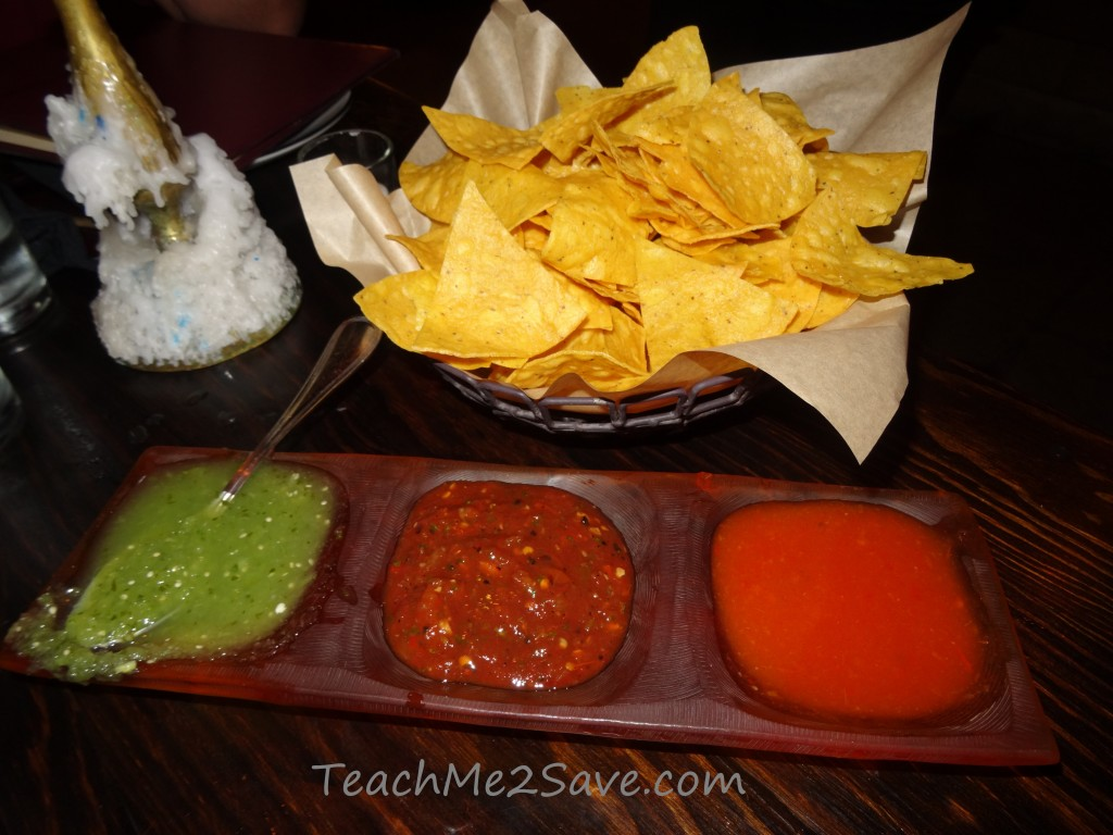 Dos Caminos Restaurant in Ft. Lauderdale chips and salsa