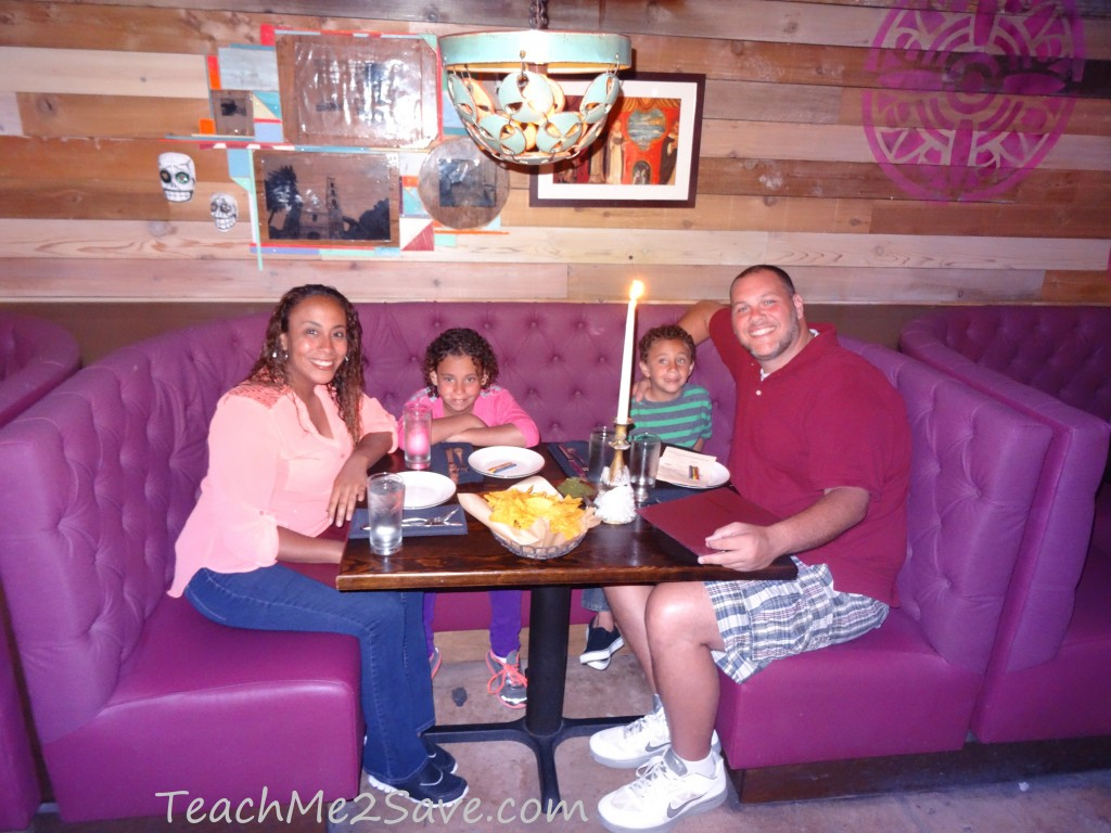 Dos Caminos Restaurant in Ft. Lauderdale family pic