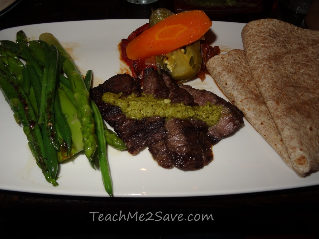 Dos Caminos Restaurant in Ft. Lauderdale - skirt steak asada