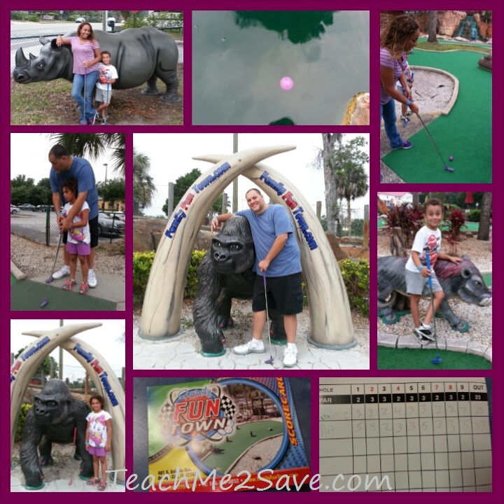 Family Fun Town mini golf TM2S