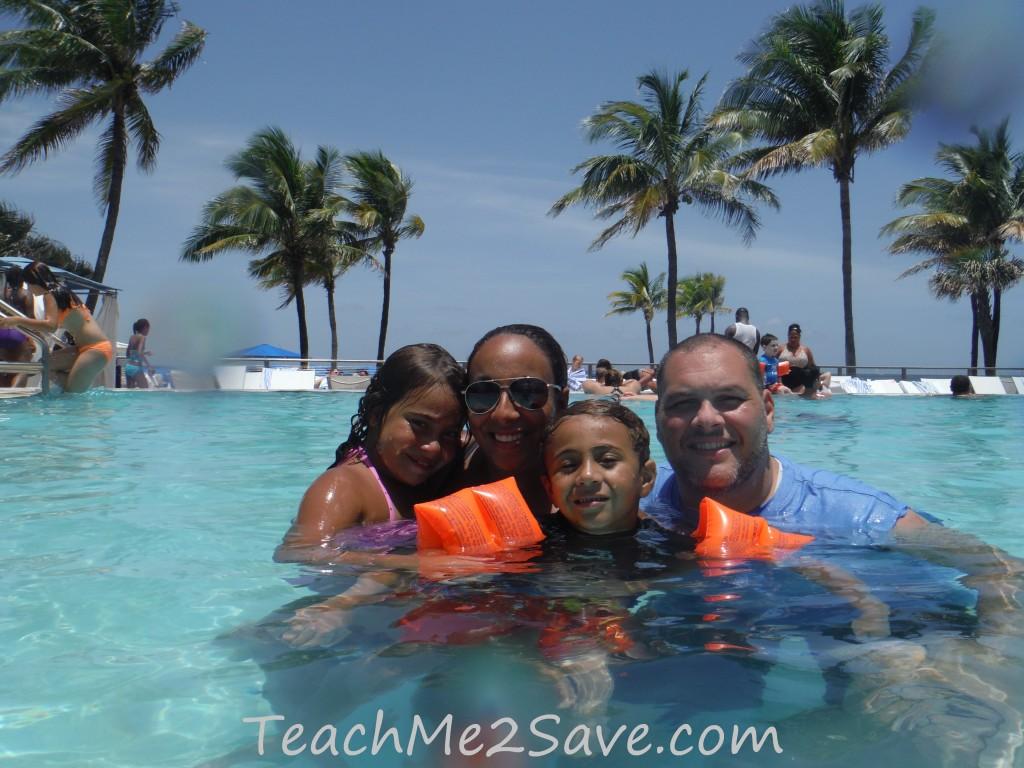 Sheraton Beach Fort Lauderdale Hotel Infinity Pool