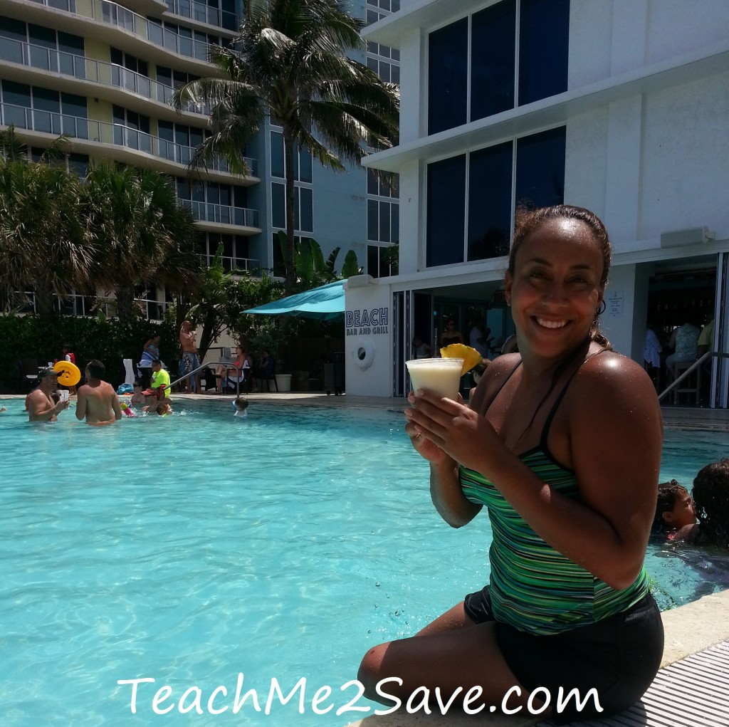 Sheraton Beach Fort Lauderdale Hotel Pina Colada