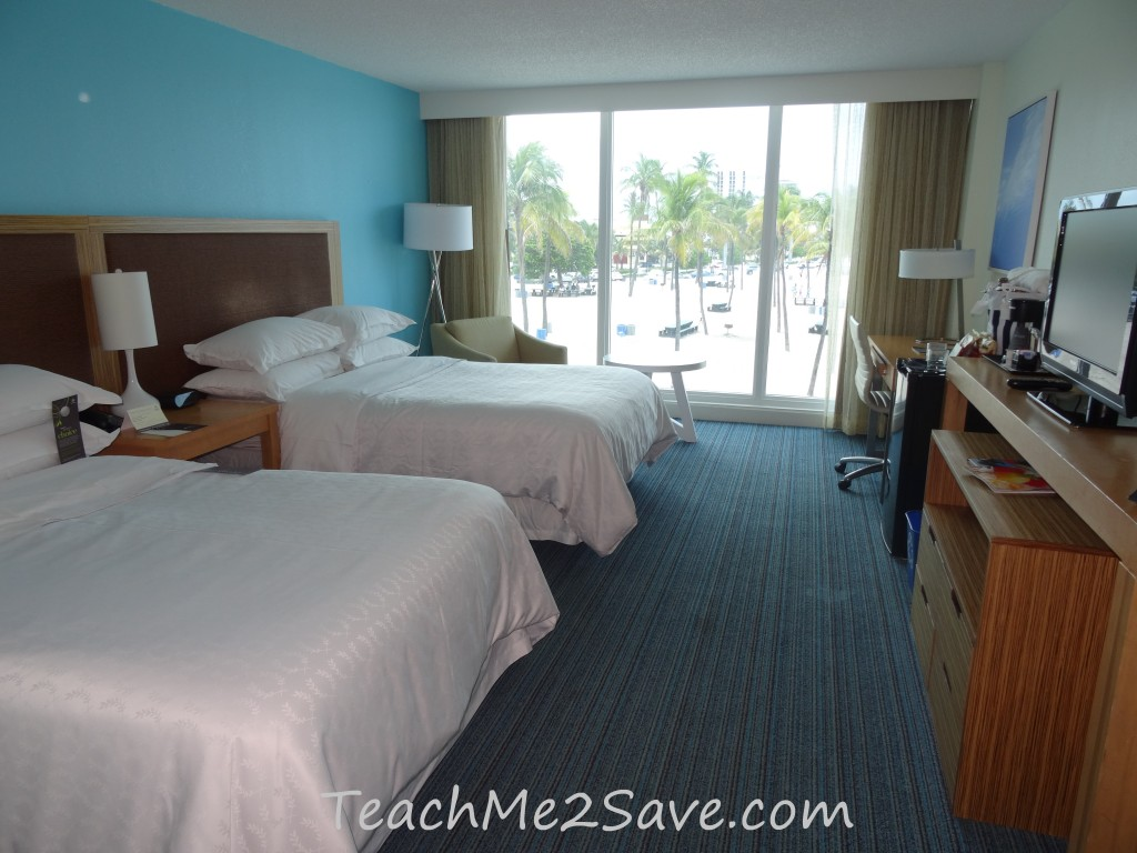 Sheraton Beach Fort Lauderdale Hotel Room