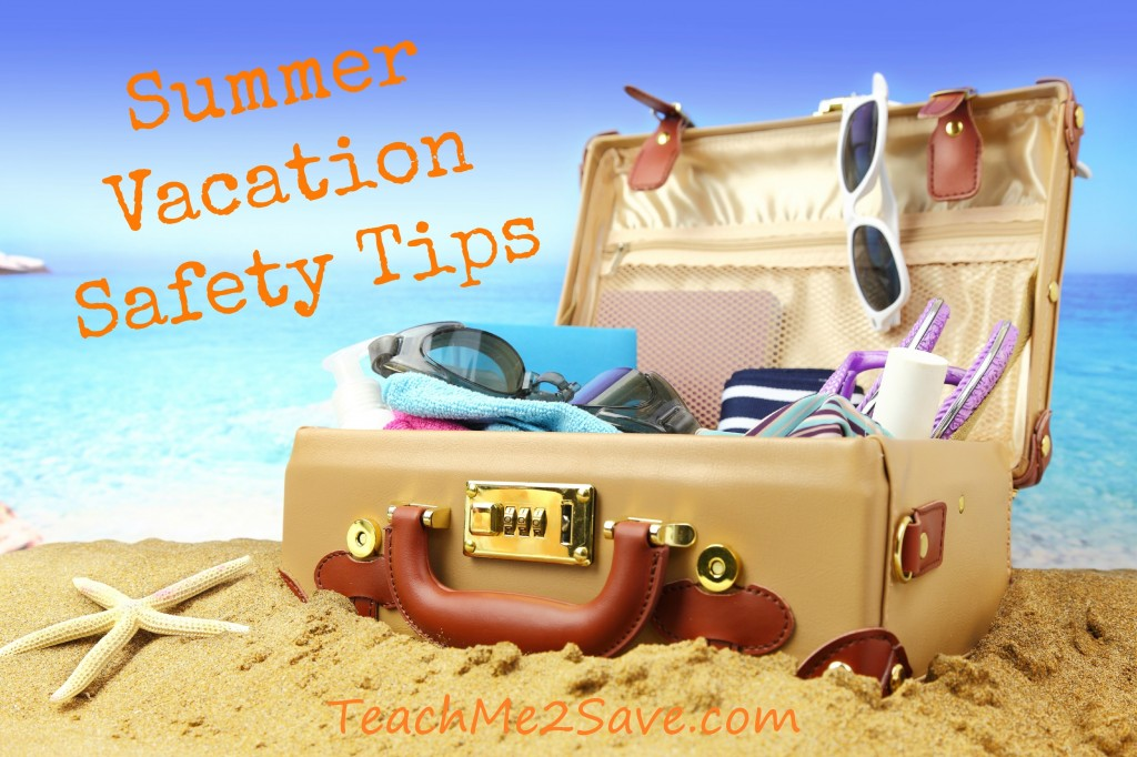 Summer Vacation Safety Tips - TM2S