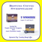 Bedtime Coffee Sweepstakes