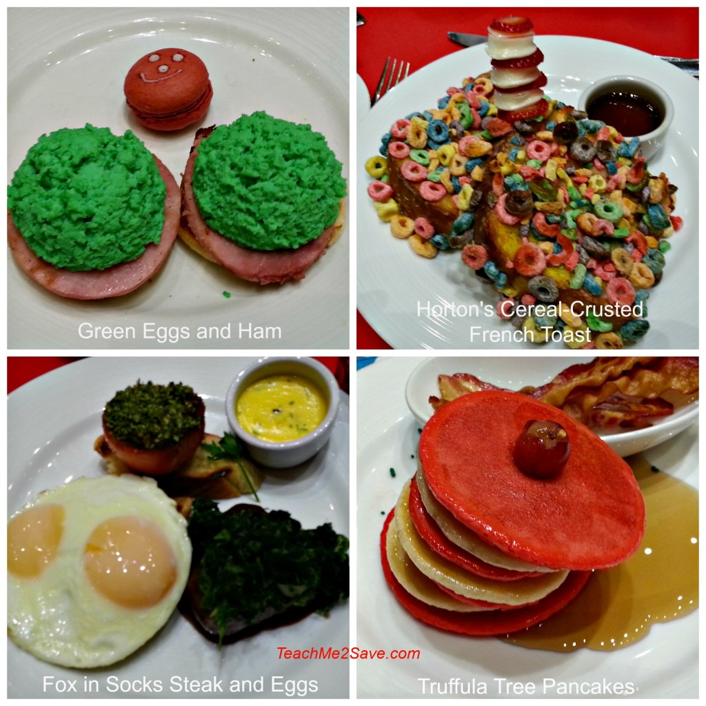 Green eggs and Ham breakfast with Labels - TM2S