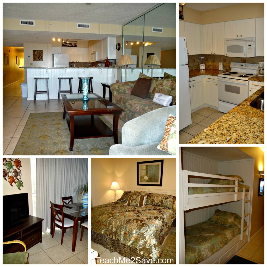 Pelican Beach Resort Unit Features