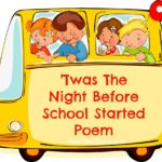 'Twas The Night Before School Started Poem