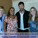Dolphin Tale 2 Interview with Harry Connick, Jr., Nathan Gamble and Cozi Zuehlsdorff