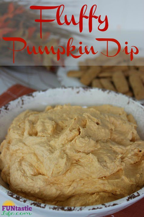 Fluffy Pumpkin Dip - FuntasticLife