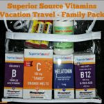 Superior Source Vitamins Vacation Travel – Family Pack Giveaway