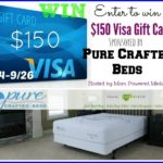 Pure Crafted $150 Visa Gift Card Giveaway