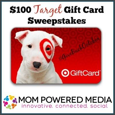 $100 Target Gift Card Sweepstakes
