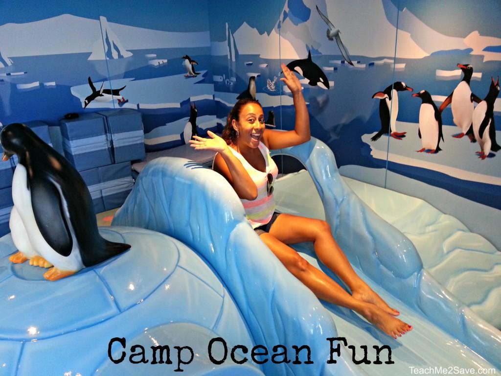 Camp Ocean Slide in the Penguin Room
