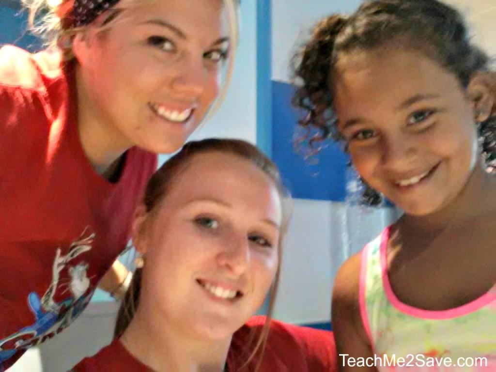 Camp Ocean Staff Selfie