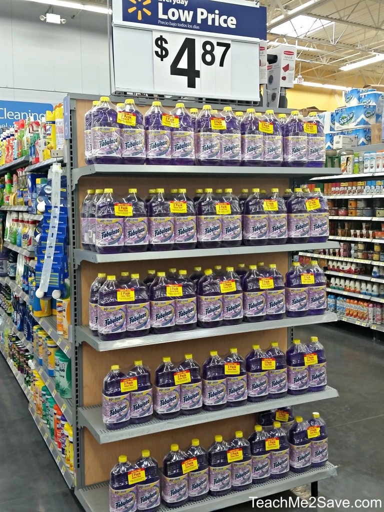 Fabuloso on Walmart Shelf