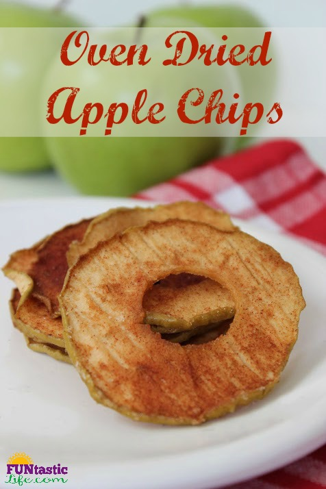 Oven Dried Apple Chips - FuntasticLife