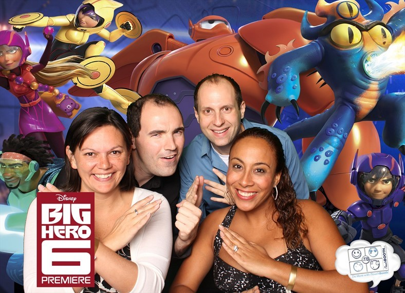 Big Hero 6 Photo Booth Pic 2