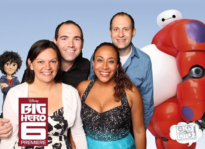 Big Hero 6 Photo Booth Pic