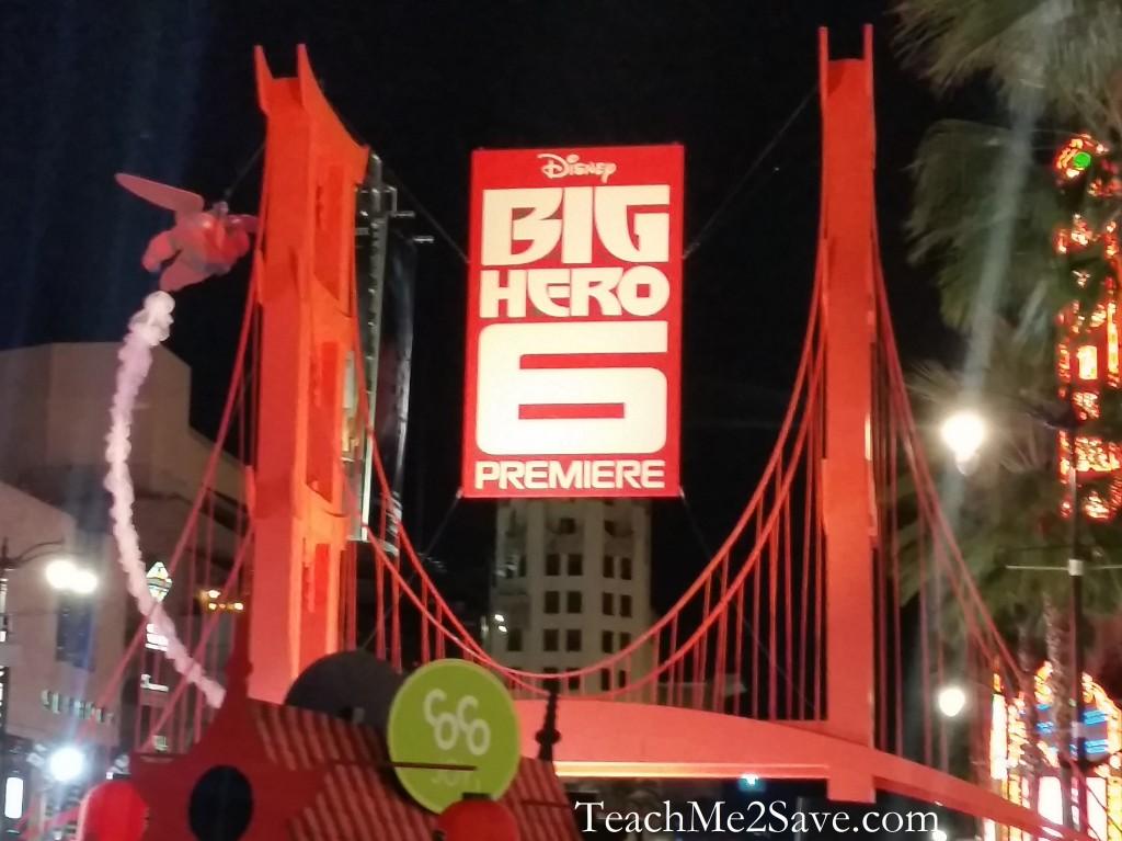 Big Hero 6 Red Carpet Event