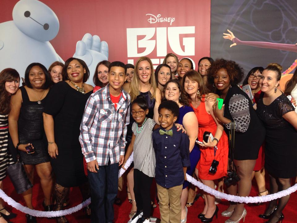 Big Hero 6 Red Carpet Event with Black-ish Kids Cast