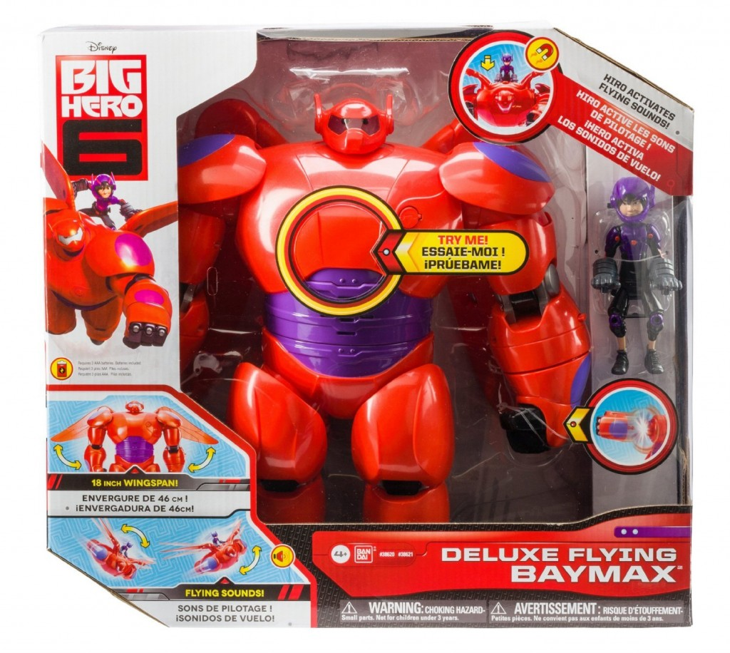 Deluxe Flying Baymax