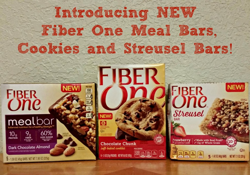 Introducing new Fiber One Streusel Bars, Cookies and Meal Bars