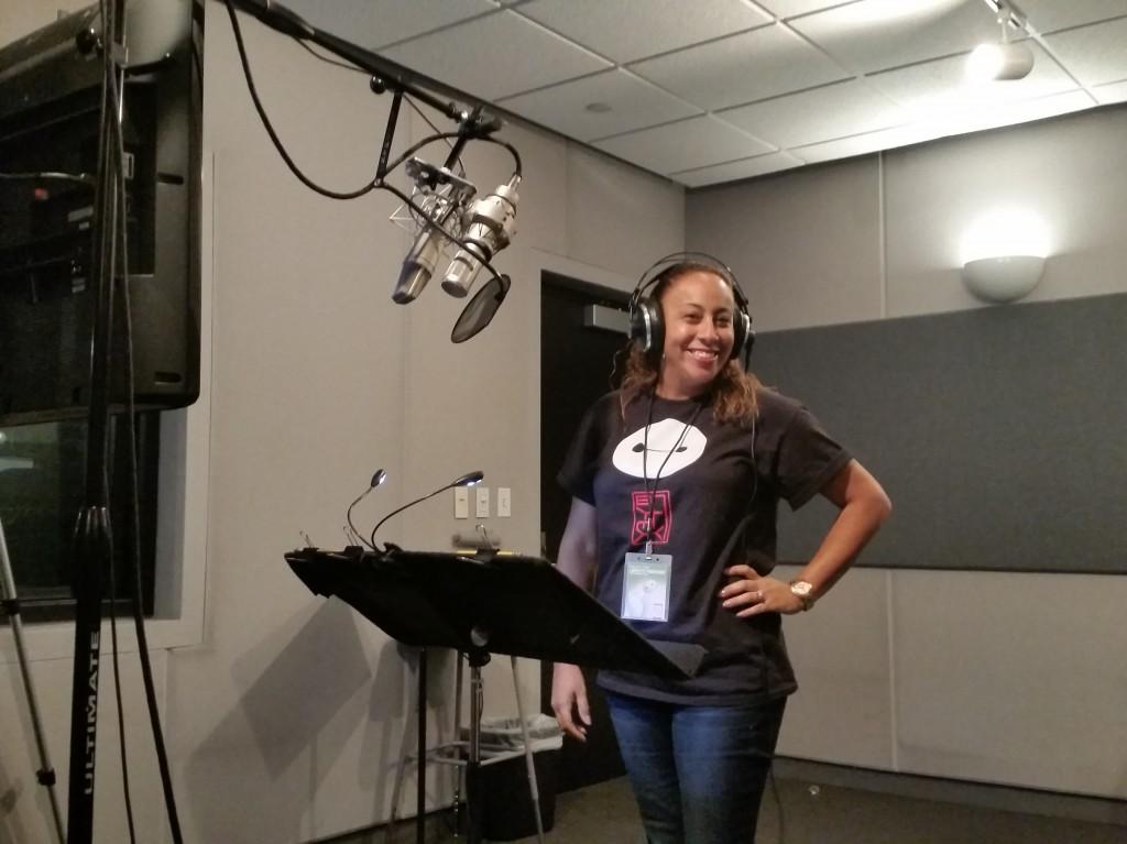 Leanette Fernandez Big Hero 6 Recording Studio