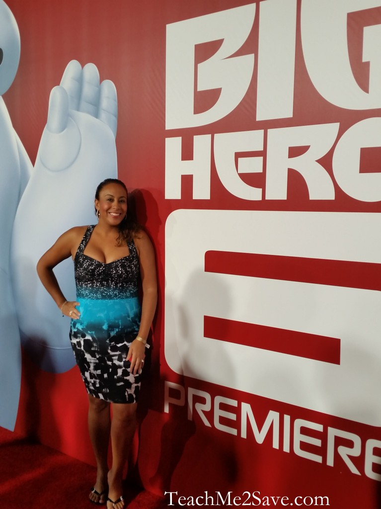 Leanette Fernandez at Big Hero 6 Red Carpet Event